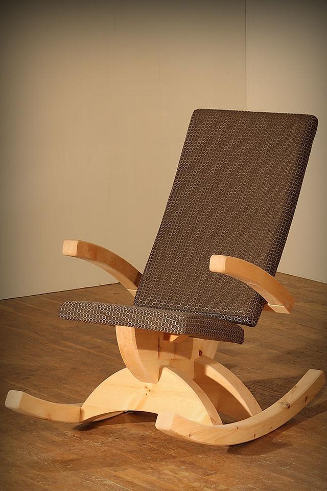 zirben schaukelstuhl lena dloigoma. Black Bedroom Furniture Sets. Home Design Ideas